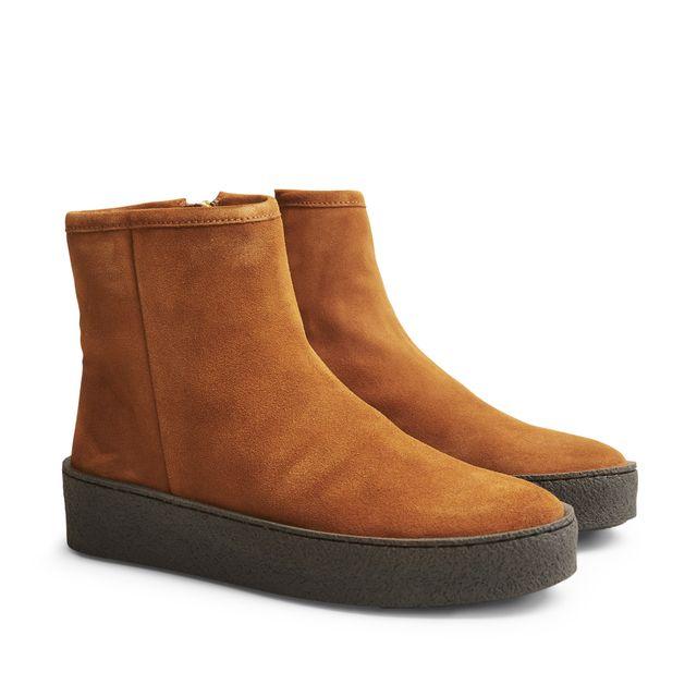 Billi Bi 5831 varmfodrade boots i mocka