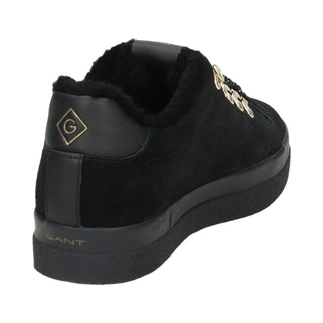 Gant Aurora Low Lace fodrade sneakers i mocka