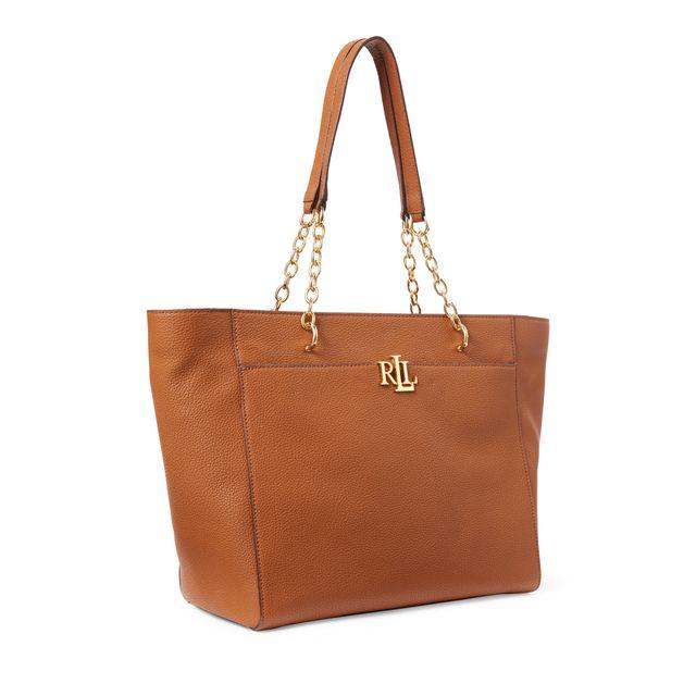 Lauren Ralph Lauren Langdon Tote handväska i skinn