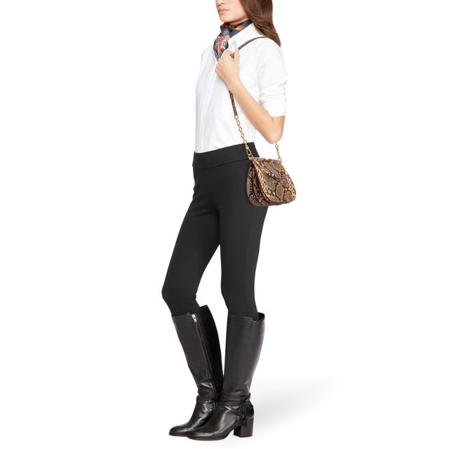 Lauren Ralph Lauren Mason Satchel handväska i skinn
