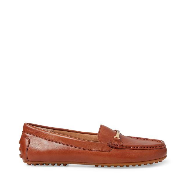 Lauren Ralph Lauren Briony loafers i skinn
