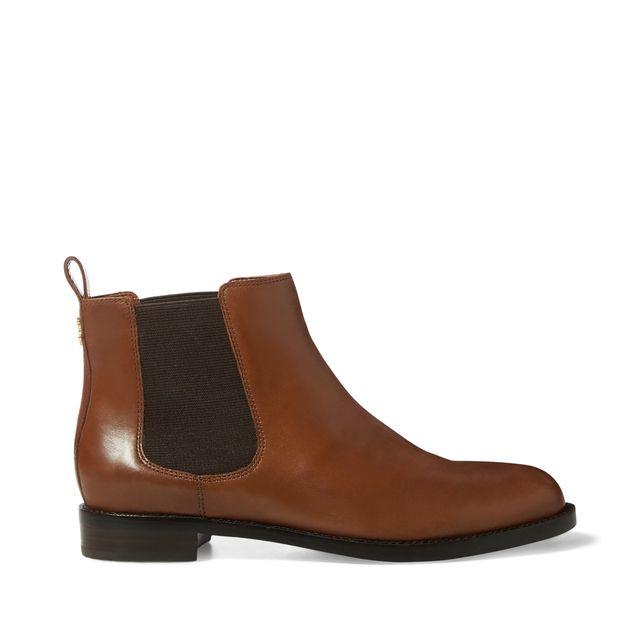 Lauren Ralph Lauren Haana chelsea boots i skinn, dam