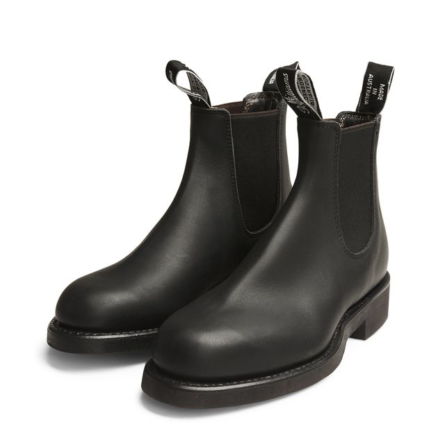 R.M.Williams Gardener Greasy Kip chelsea boots, dam