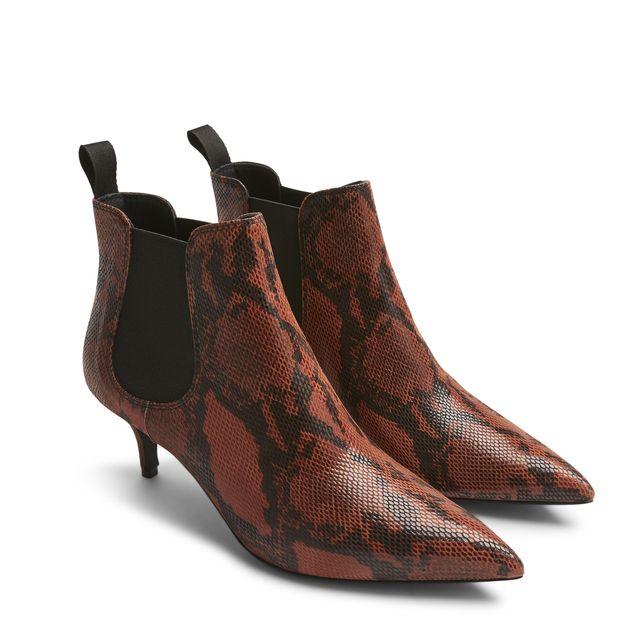 Rizzo Ellia Chelsea Boots i skinn, dam