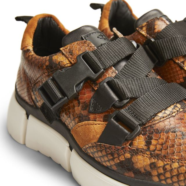 Rizzo Chiara Sneakers i skinn, dam