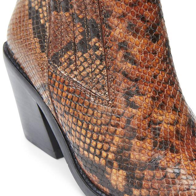 Rizzo Marila boots i präglat skinn