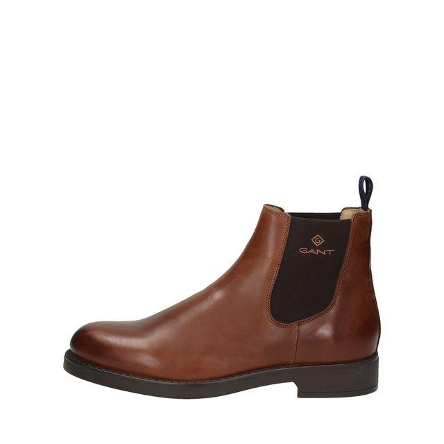 Gant Oscar chelsea boots i läder, herr