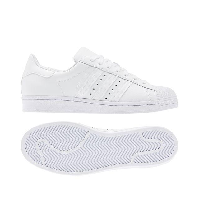 Adidas Superstar sneakers i skinn, dam