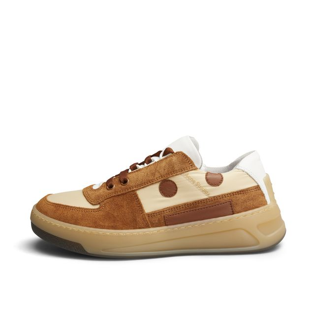 Acne Steffey Lace Up EM Sneakers i mocka