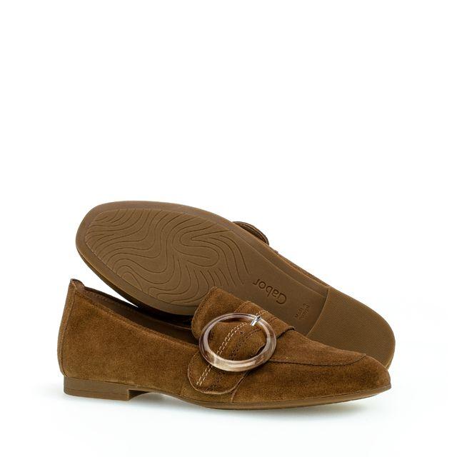 Gabor 44.212 loafers i mocka