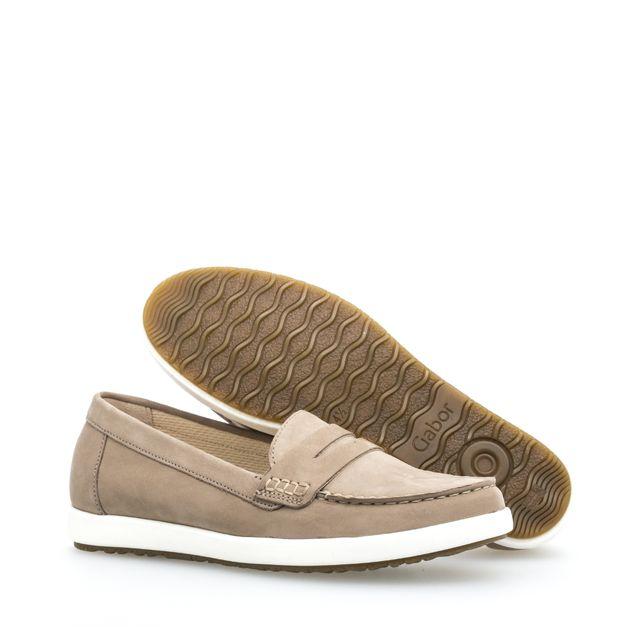 Gabor loafers i mocka