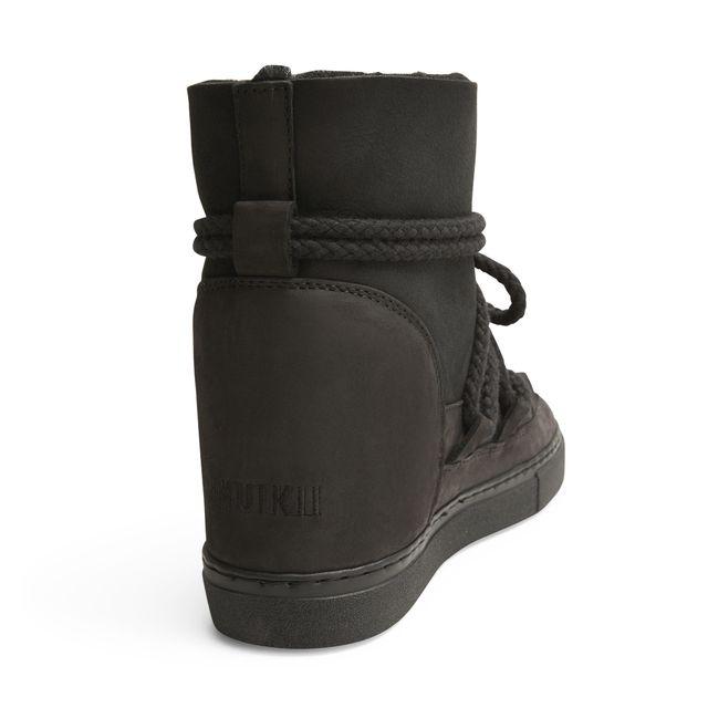 Inuikii Sneaker Sequin Wedge varmfodrade skor