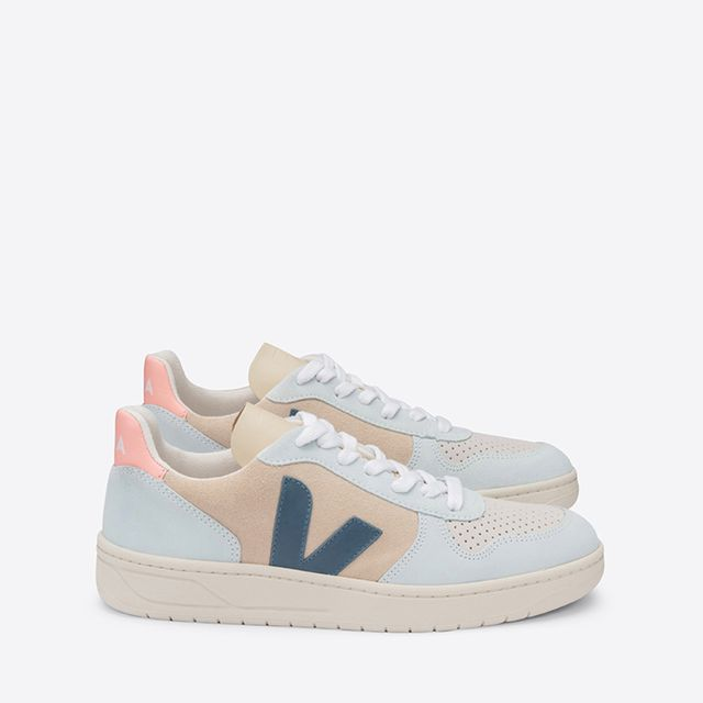 Veja V-10 Multico sneakers i mocka, dam