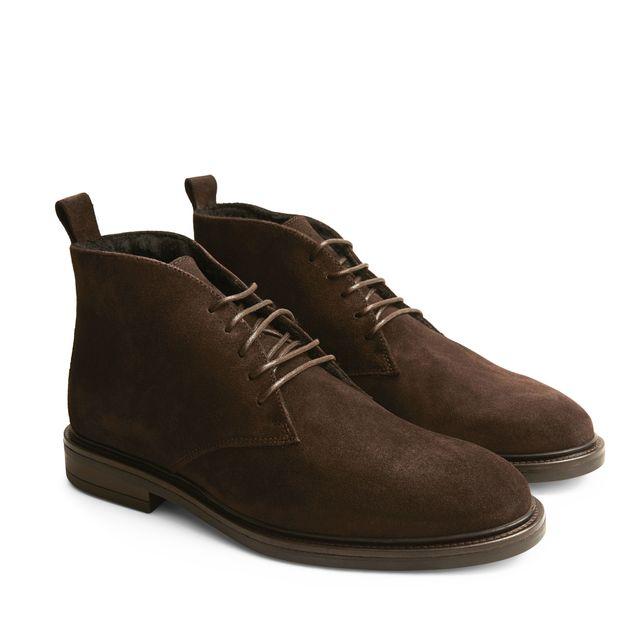 Rizzo Nico varmfodrade boots i mocka