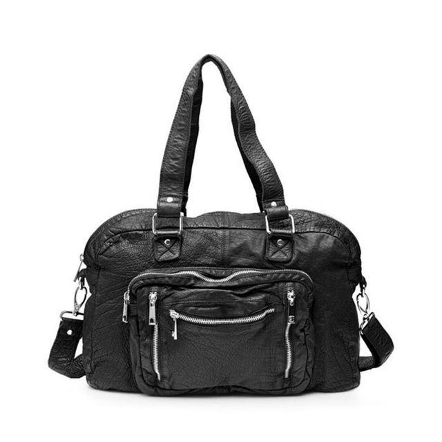 Nunoo Mille Washed handväska i skinn