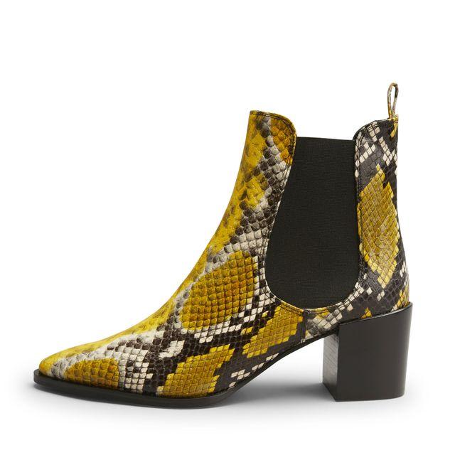 Rizzo Elvea boots i präglat skinn, dam