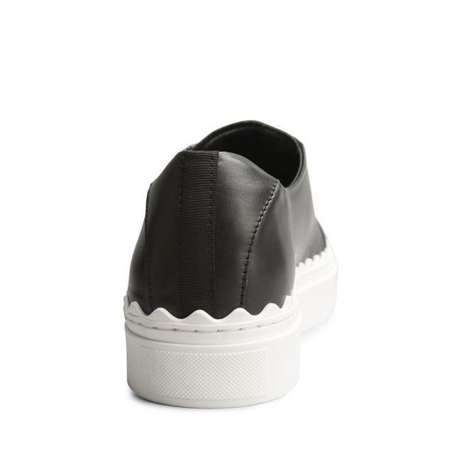 Rizzo Bianca sneakers i skinn