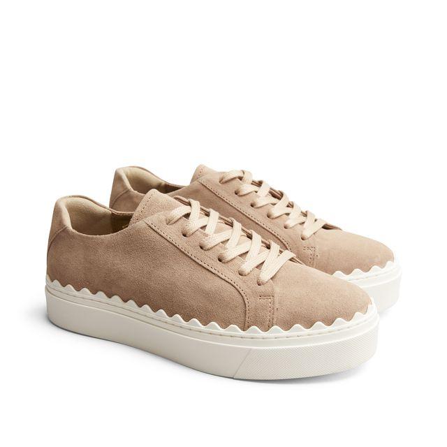 Rizzo Bianca sneakers i mocka, dam