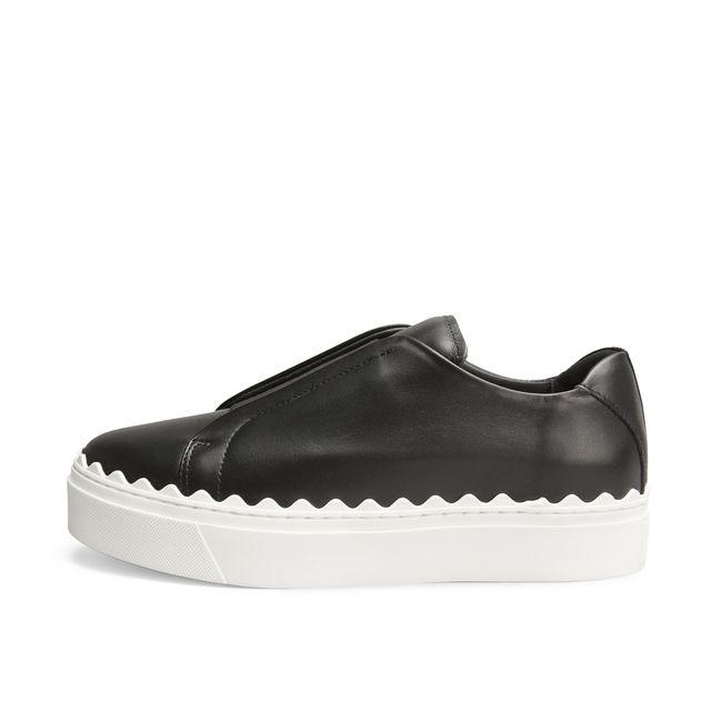 Rizzo Beata sneakers i skinn, dam