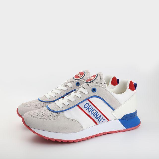 Colmar Travis Runner sneakers i mocka, herr