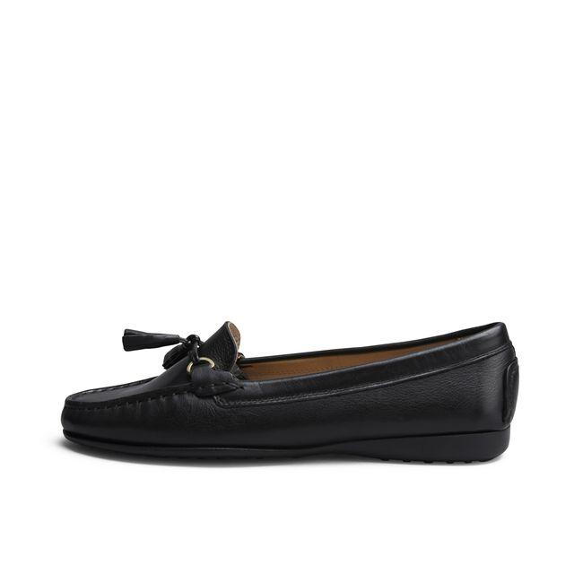 Rizzo Laurina loafers i skinn, dam