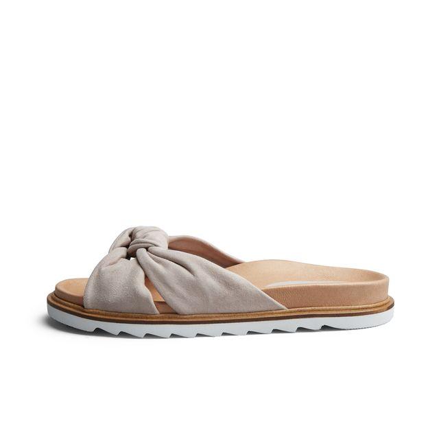 Rizzo Zelia slip-in sandaler i mocka, dam
