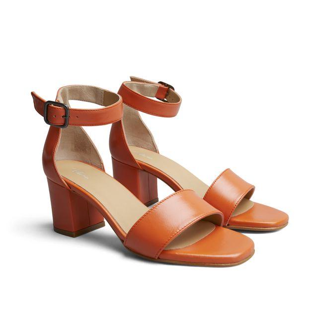 Rizzo Zelda sandaletter i skinn, dam