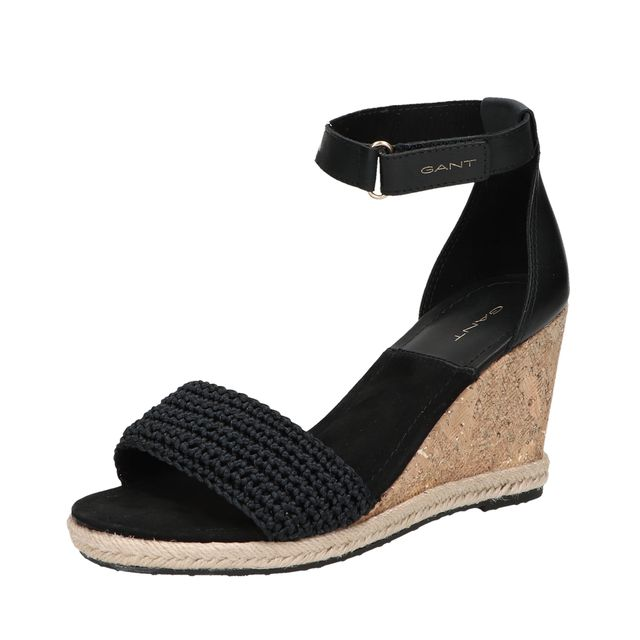 Gant Pelicanbay wedge-sandaler i skinn, dam