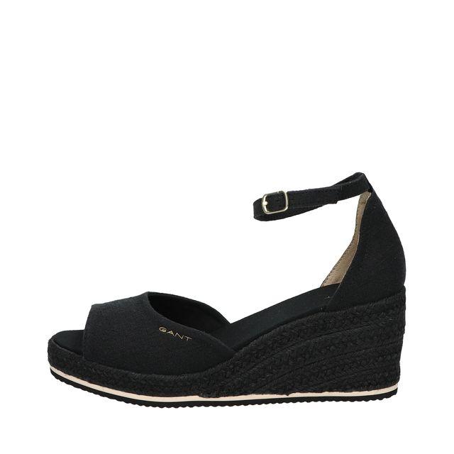 Gant Wedgeville wedge-sandaler i textil, dam