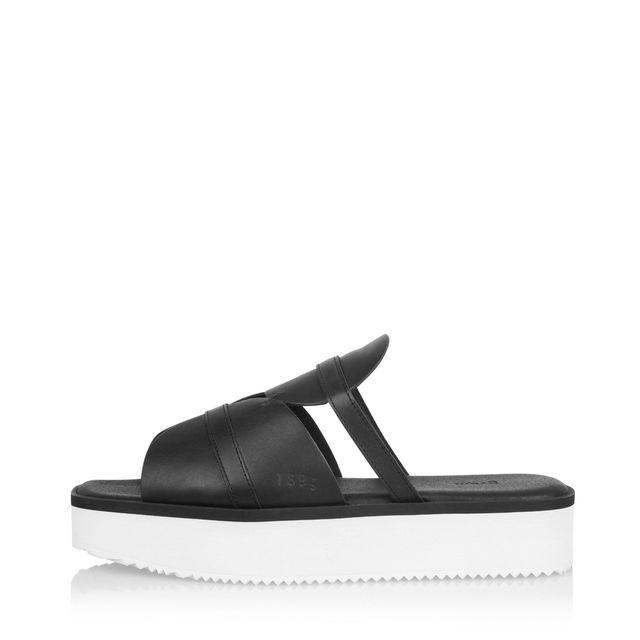 Gram 189g High slip-in sandaler i skinn, dam