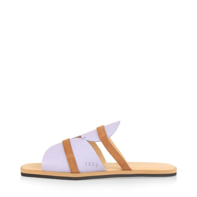 Gram 189g slip-in sandaler i skinn, dam
