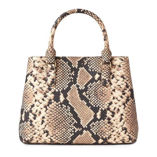 Lauren Ralph Lauren Marcy Satchel handväska