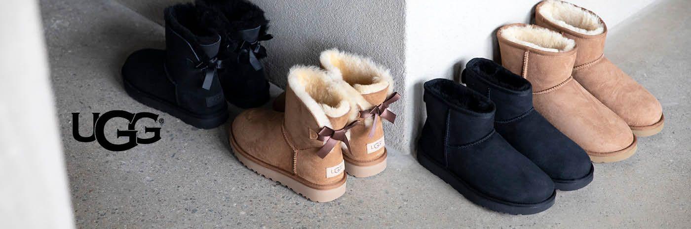 UGG Classic Mini boots i fårskinn, dam Rizzo
