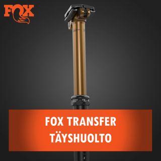 Fox Transfer hissitolpan täyshuolto
