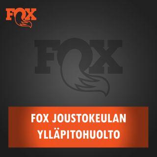 Fox joustokeulan ylläpitohuolto