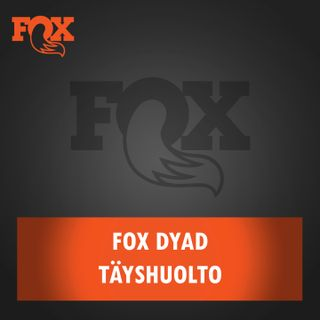 Fox DYAD -takaiskunvaimentimen täyshuolto
