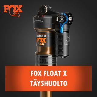 Fox Float X ja DHX Air -iskunvaimentimen täyshuolto