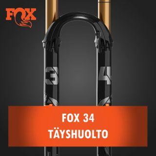 Fox 34 joustokeulan täyshuolto