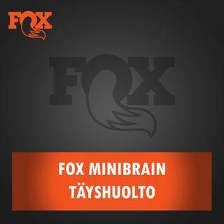 Fox Minibrain iskunvaimentimen täyshuolto
