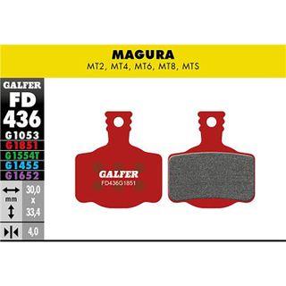 Galfer Advanced jarrupala Magura MT2 MT4 MT6 MT8 jarruihin