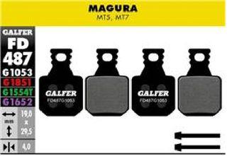 Galfer Jarrupalat Magura MT5 MT7 Standard Compound