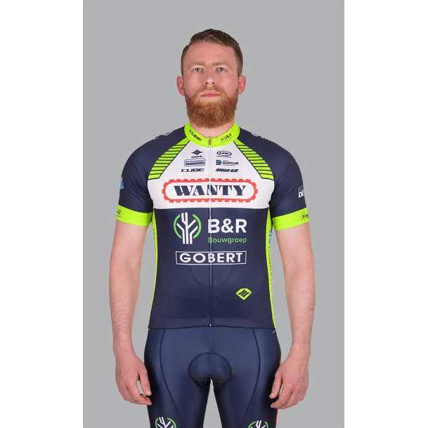 CUBE Team Wanty pyöräilyshortsit