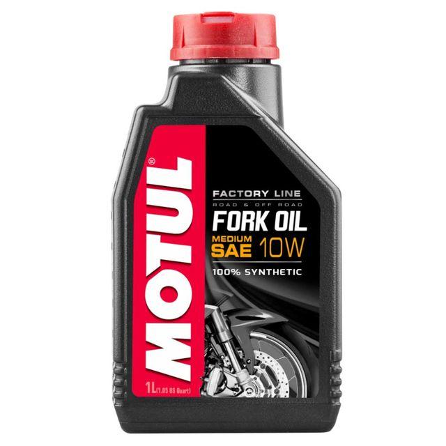 Motul Fork Oil Factory Line Medium 10W iskunvaimenninöljy 1L