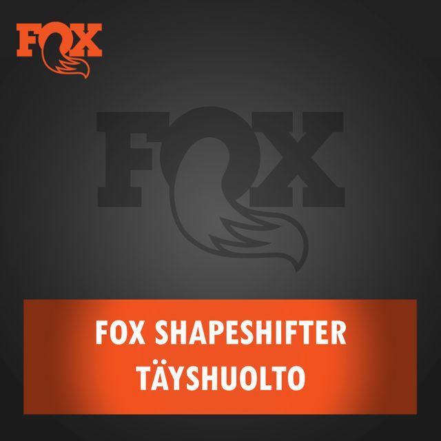 FOX Shapeshifter täyshuolto