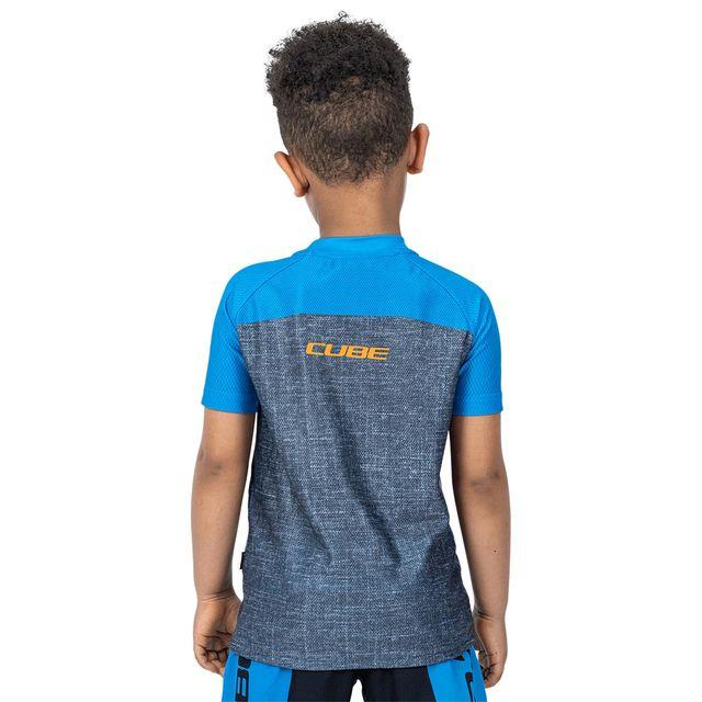 CUBE Junior Jersey lyhythihainen ajopaita nuorille