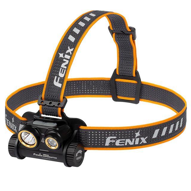 Fenix HM65R Superraptor 1400lm USB-C ladattava otsavalaisin