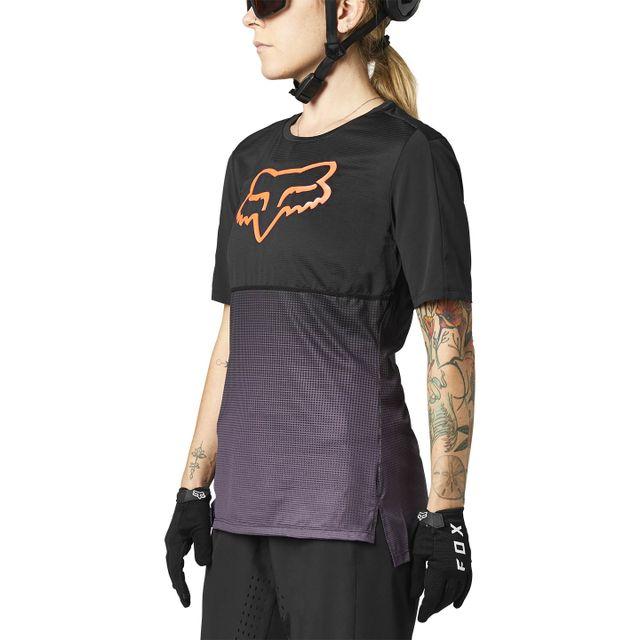 FOX Racing W Flexair SS naisten lyhythihainen ajopaita