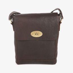 Pc-veske Flapbag Medium skinn