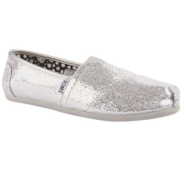 Silver Glitter Wm Clsc