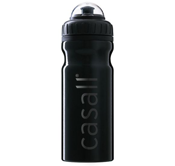 Metallic water bottle
